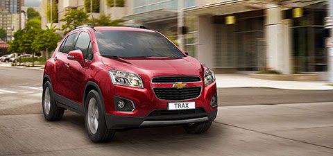 Entdecken Sie SUVs und Crossovers von Chevrolet