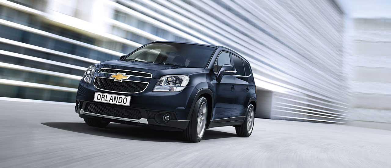 Chevrolet Orlando 7 Sitziger Mpv